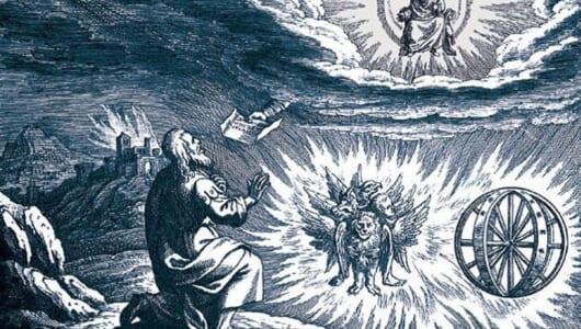 宇宙船か異形の天使か? 神の乗り物「メルカバ」の謎