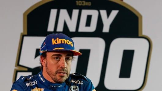 アロンソまさかの予選敗退…インディ500はF1よりも難しかった?