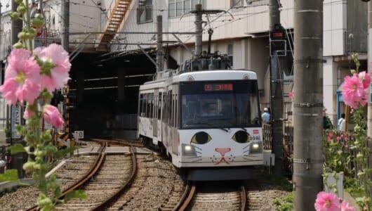 招き猫電車が復活!都内を走る珍しい路面電車「東急世田谷線」10の謎