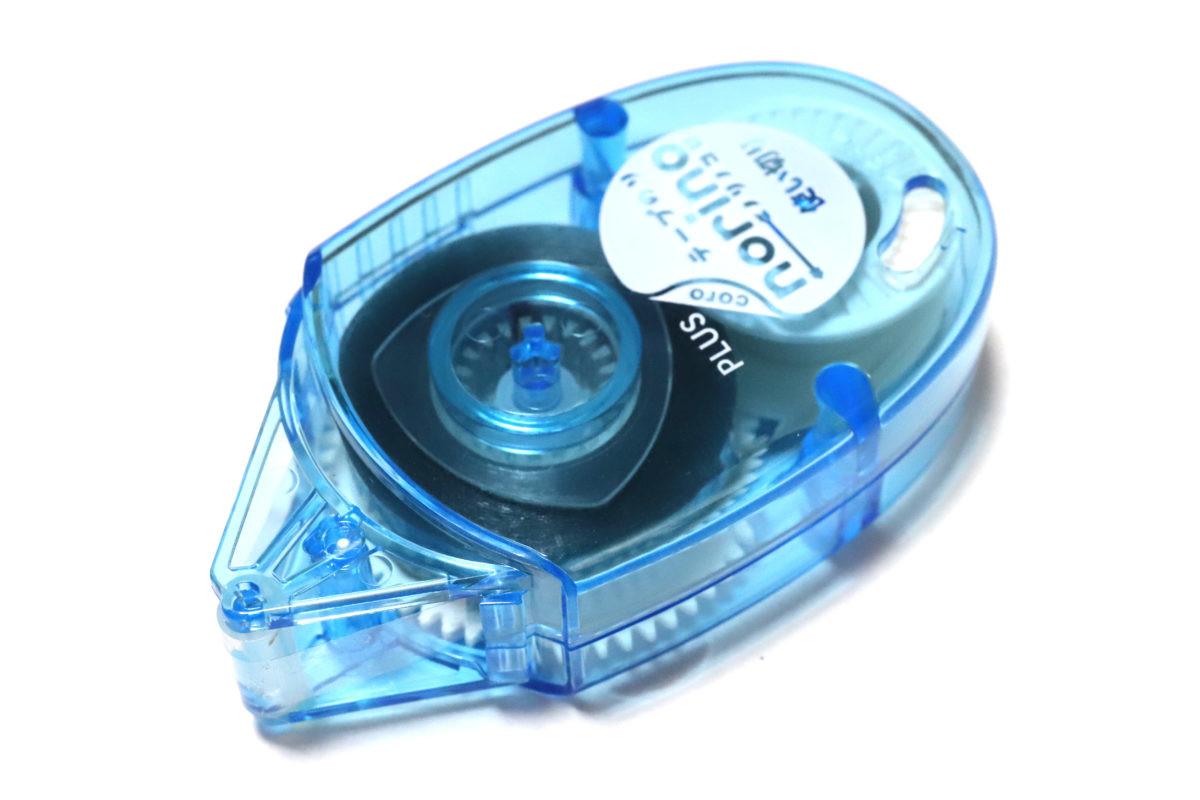 ↑テープ供給リールの大きさが目立つが、他はシンプルそのもの