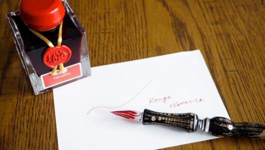 【菅未里の自腹買い文房具】職人技が冴える男前なガラスペンとラメ入りインク