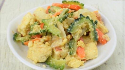 味つけには久米島の泡盛を使用! 本格的なチャンプルーが味わえるセブンの「旬を味わうゴーヤチャンプルー」