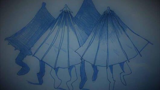 【ムー妖怪図鑑】トーツポテンの化け物〜〜食べるな注意! キノコのお化け