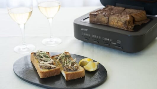 """三菱電機「ブレッドオーブン」の""""生トースト""""を甘い・しょっぱい・サッパリの三段活用する方法"""