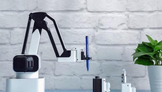 たんなる3Dプリンターではない! 愛着が湧いてしまう多機能「ロボットアーム」がいた!