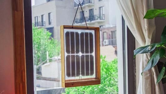 これでエコ意識高い系! 「窓型ソーラーパネル」で太陽光発電に自宅で気軽にトライ