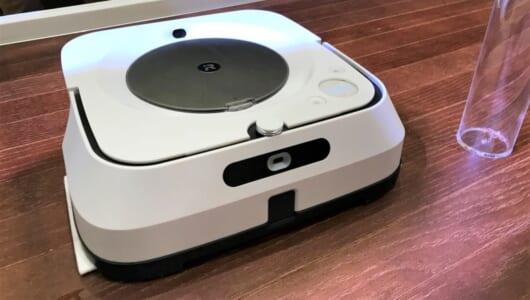 マンガで読んだ「掃除しなくていい未来」がついに…! 床拭きロボット「ブラーバ ジェットm6」と「ルンバ」の連携が感慨深い