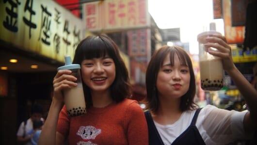 大原櫻子が台湾へ!ヤオアイニンと『びしょ濡れ探偵 水野羽衣』撮影秘話を語る