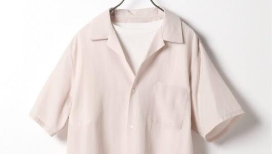 暑い夏でも快適に過ごせる「さらっとしたシャツ」3枚