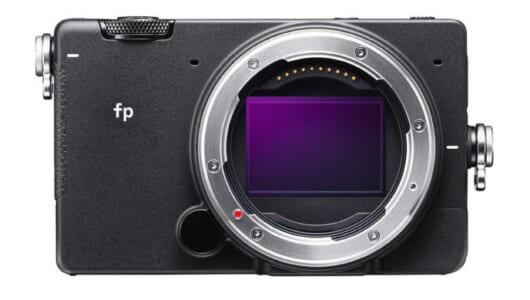 フルサイズミラーレスカメラ「SIGMA fp」は、静止画・動画の垣根を越える!?