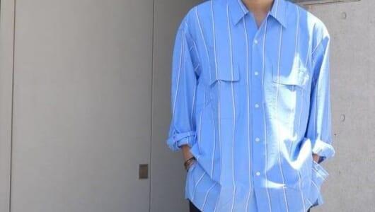 「ちょっと肌寒い」ときに使える、ゆったりシルエットの長袖シャツ3枚