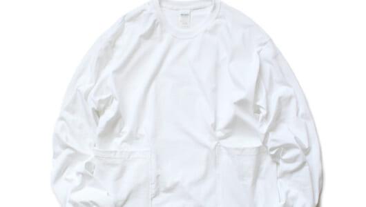 何枚あっても困らない。着まわしやすい「シンプルな白ロンT」