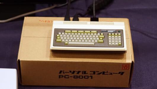 このレトロ感…ちゃんとBASICで動くし! NEC初の本格パソコン「PC-8001」の40周年ミニチュア版登場!