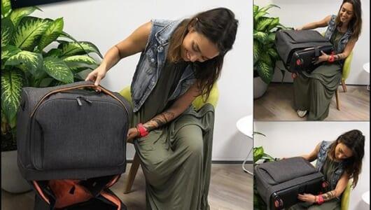 このスーツケースがあれば、機内持込みサイズや手荷物受け取りなどの飛行機問題は解決!