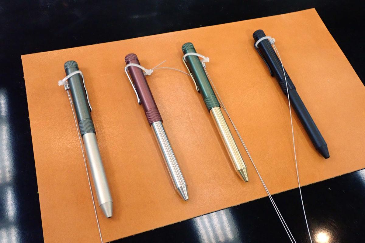 ↑サクラ「SAKURA craft_lab 004」各8000+税(9月下旬発売予定)