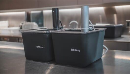 マニアックな調理も可能に! 大人気の低温調理器「BONIQ」がプロ仕様になって帰ってきた