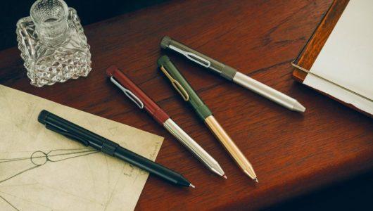 多機能ペンがここまで洗練されるとは!真鍮と洋白を使った「SAKURA craft_lab 004」がひれ伏すカッコ良さ