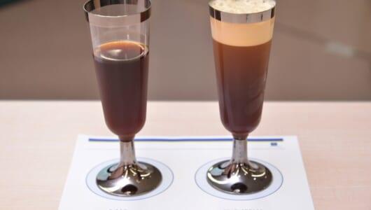 コーヒー好き派・苦手派両方にささる「泡コーヒー」がスゴい! 過度な苦味がないんです