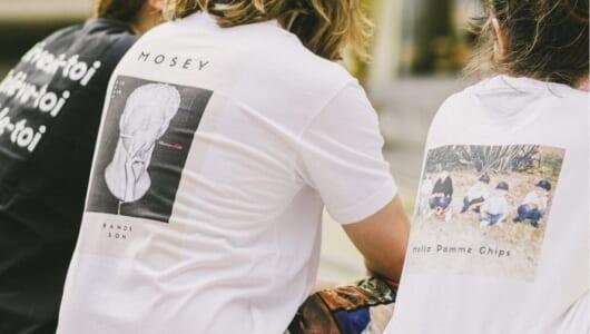 バックプリントがかっこいい!「後ろ姿」がイケてるTシャツ3枚。