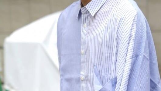 いま熱視線を浴びる「ストライプシャツ」。ビッグな3枚をピックアップ