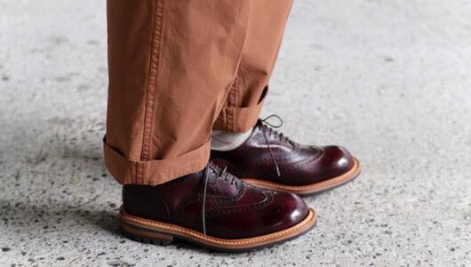 オフにはオフの革靴を。いい感じにカジュアルなアイテムが集まりました