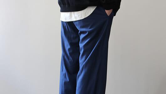 夏に穿きたい。軽い素材のさらっとしたワイドパンツ3本