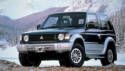 「RVの三菱」の中心的存在──世界中で愛された90年代RVブームを代表する一台【中年名車図鑑|2代目・三菱パジェロ】