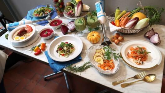 「ブラウン マルチクイック5ヴァリオ フィット」で、野菜ヌードルが簡単に作れるってホントですか!?