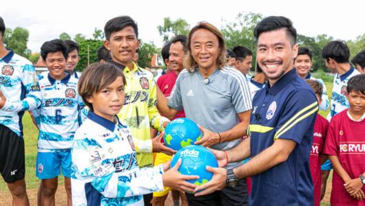 「人づくりは国づくり」を実感!――北澤豪さんのカンボジア視察【JICA通信】