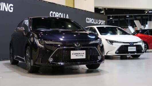 でちゃったね、トヨタ新型「カローラ」「カローラ ツーリング」。スタイリッシュ、ワイドなデザインに驚き!