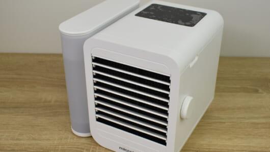99段階の風速調節が可能! 加湿+冷風の「Personal Air Cooler SNOWMAN LITE」レビュー