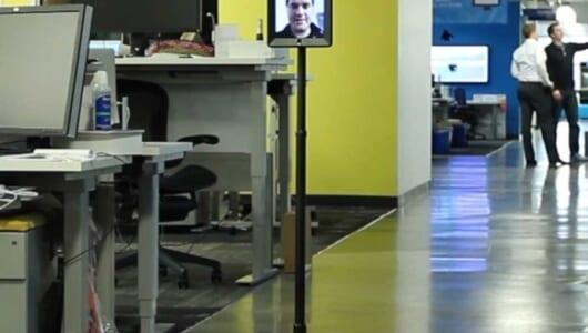出社しなくても示せる存在感! 「リモートワーク」をもっとリアルにするロボットが登場