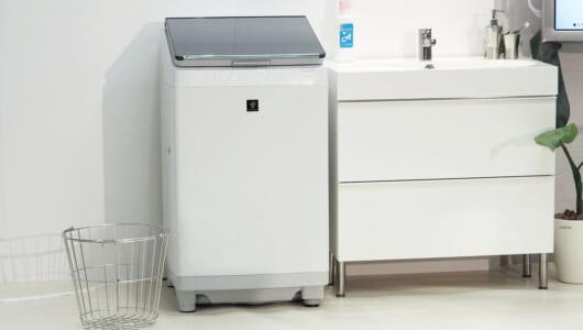 独自技術を「これでもか」と投入! 「タテ型洗濯機ではシャープが抜けている」と実感させたスマホ連携モデルを詳しく解説