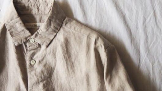 秋に備えてシャツを。一枚でさまになる上質な4枚