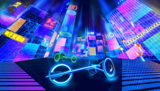 車いす競技を体感! VRレーサー『CYBER WHEEL X』で未来都市・東京を疾走せよ