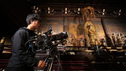 「天皇家の京都」を8Kカメラで撮影!『世界遺産』10・6放送
