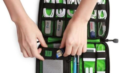 ケーブルと電源でバッグがごちゃごちゃな人に薦めたい「使えるガジェットポーチ」5選