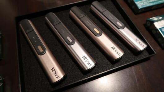 1台で2段階の加熱ができちゃう! 加熱式たばこ新勢力となる「PULZE(パルズ)」が日本全国発売