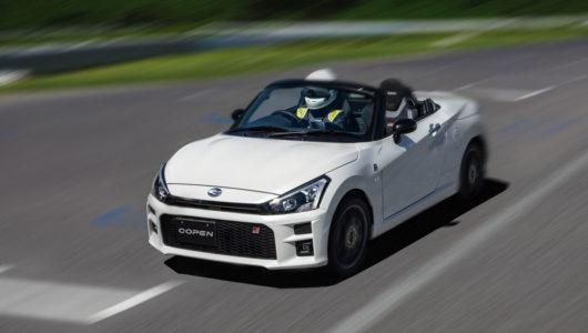 ダイハツのフラッグシップカーにして、GT的資質を持つ 最高のオープンカー「COPEN GR SPORT」を徹底レビュー