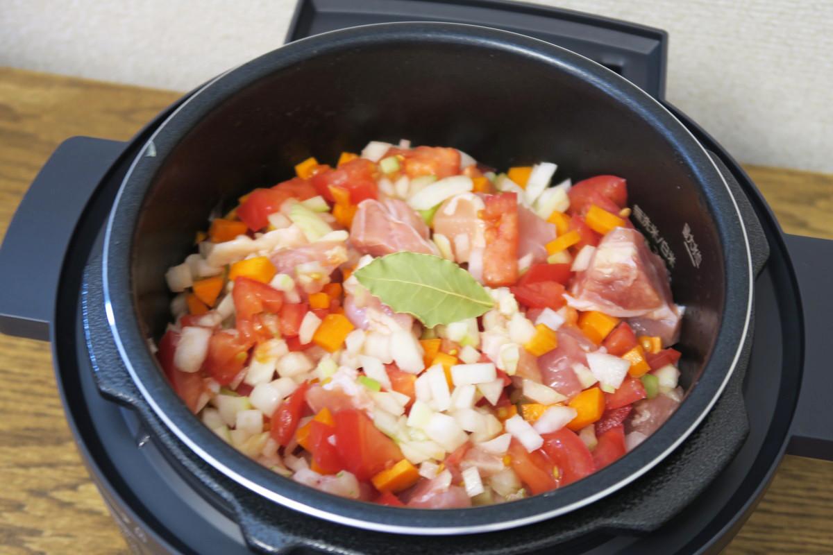 電気 レシピ 鍋 オーヤマ 圧力 アイリス