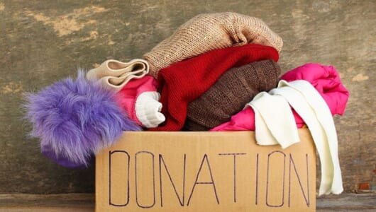 きっと誰かの役に立つ!物を捨てる前に考えたい「寄付する」という手放しかた