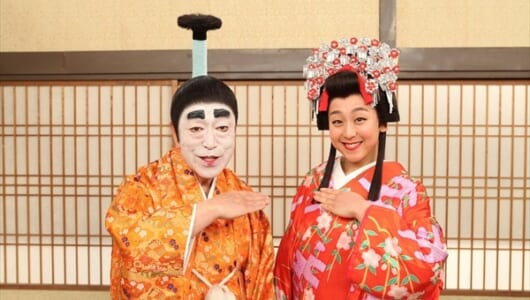 浅田真央が『志村けんのバカ殿様』に初登場!「似ているってよく言われた」
