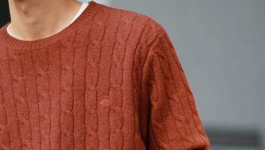 30代からは「ちょっといいニット」をさらっと着るのが洒落てます。シンプルイズベストな4枚が揃いました