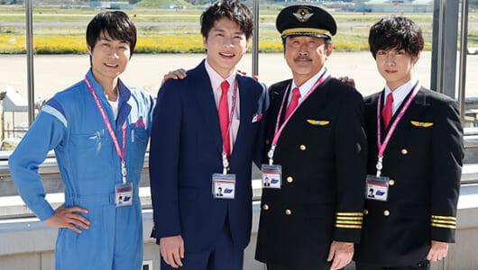 田中圭、Xマスは「4人で鍋をして、こたつの中で…」『おっさんずラブ-in the sky-』会見