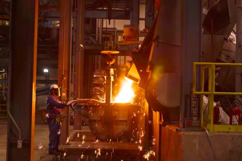 """↑""""世界の工場""""が中国などアジアに移った現在でも、創業の地であるサウスピッツバーグで変わらず製造を続けている"""