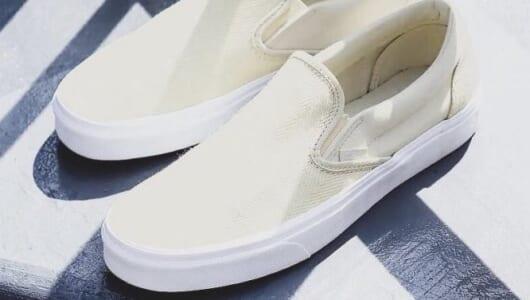 「定番とはちょっと違う」白スニーカー。おすすめはこの4足
