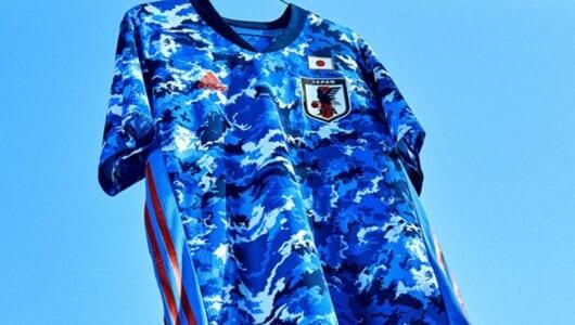 サッカー日本代表の新ユニフォームが話題! 野村一晟氏による「アンビグラム」が面白い
