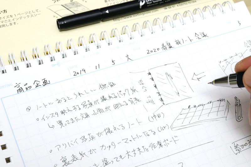 ↑天側の情報欄は、ハッキリ見やすいように太めのペンで書いておくと、あとから探しやすくなる