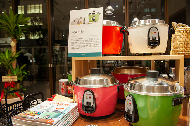 ↑台湾の家庭には必ずある「大同電鍋」は、料理実演イベントも大盛況だった人気の調理家電