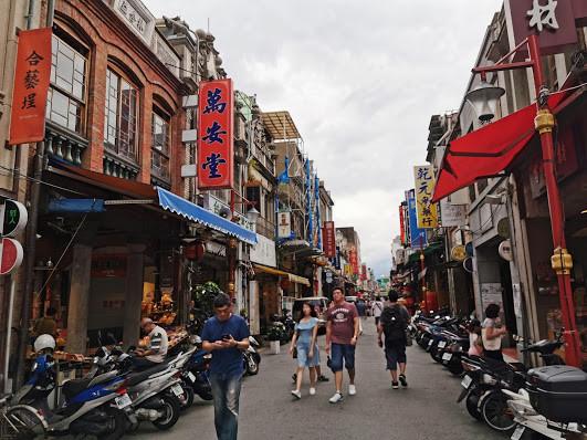 ↑台湾の街並み